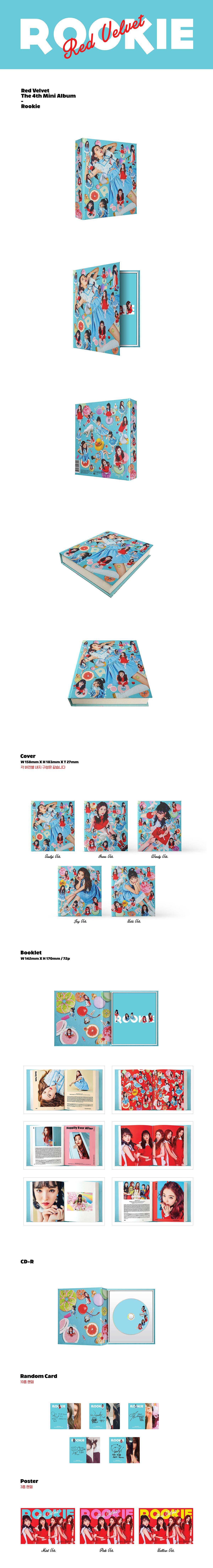 Red Velvet 'ROOKIE' 2017.02.01 http://redvelvet.smtown.com/ / Red Velvet 레드벨벳_Rookie_Teaser Clip #2 https://www.youtube.com/watch?v=Yh4zSHt7w3w / Red Velvet 레드벨벳_Rookie_Teaser Clip #1 https://www.youtube.com/watch?v=y631W-LKtC4