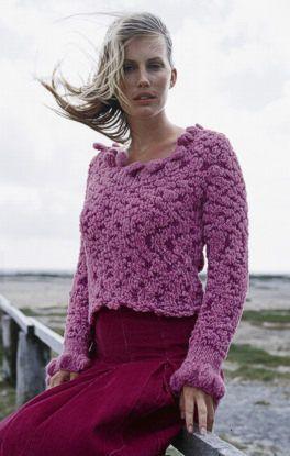 d82a5319e7ba Free Knitting Pattern - Women s Sweaters  Favola and Fumo Sweater ...