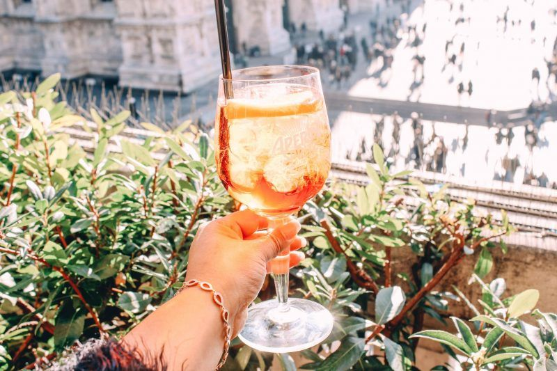 Drinks With A View Enjoy An Aperol Spritz On The Terrazza