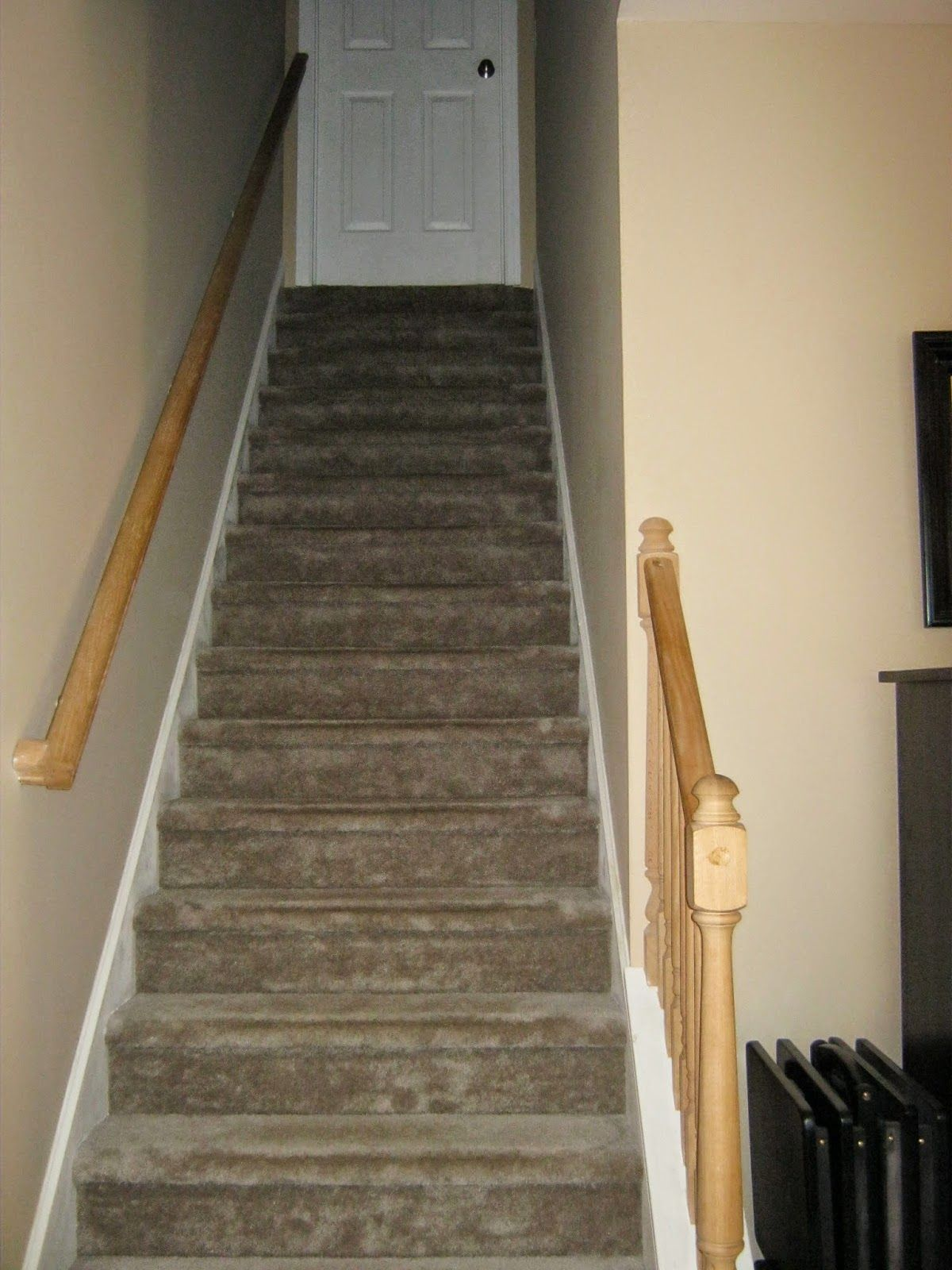 Best Paint Speckled Pawprints Refinished Staircase Reveal 640 x 480