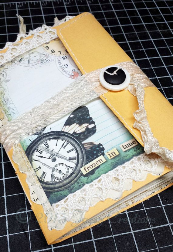 Junk Journal with Envelope Cover