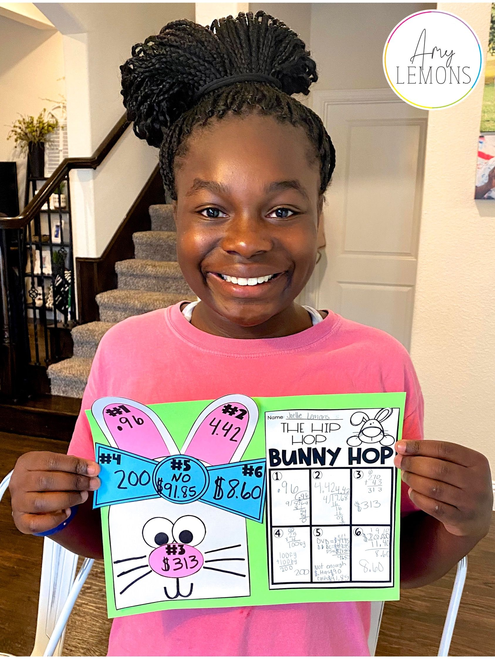 Easter Math And Word Problems In