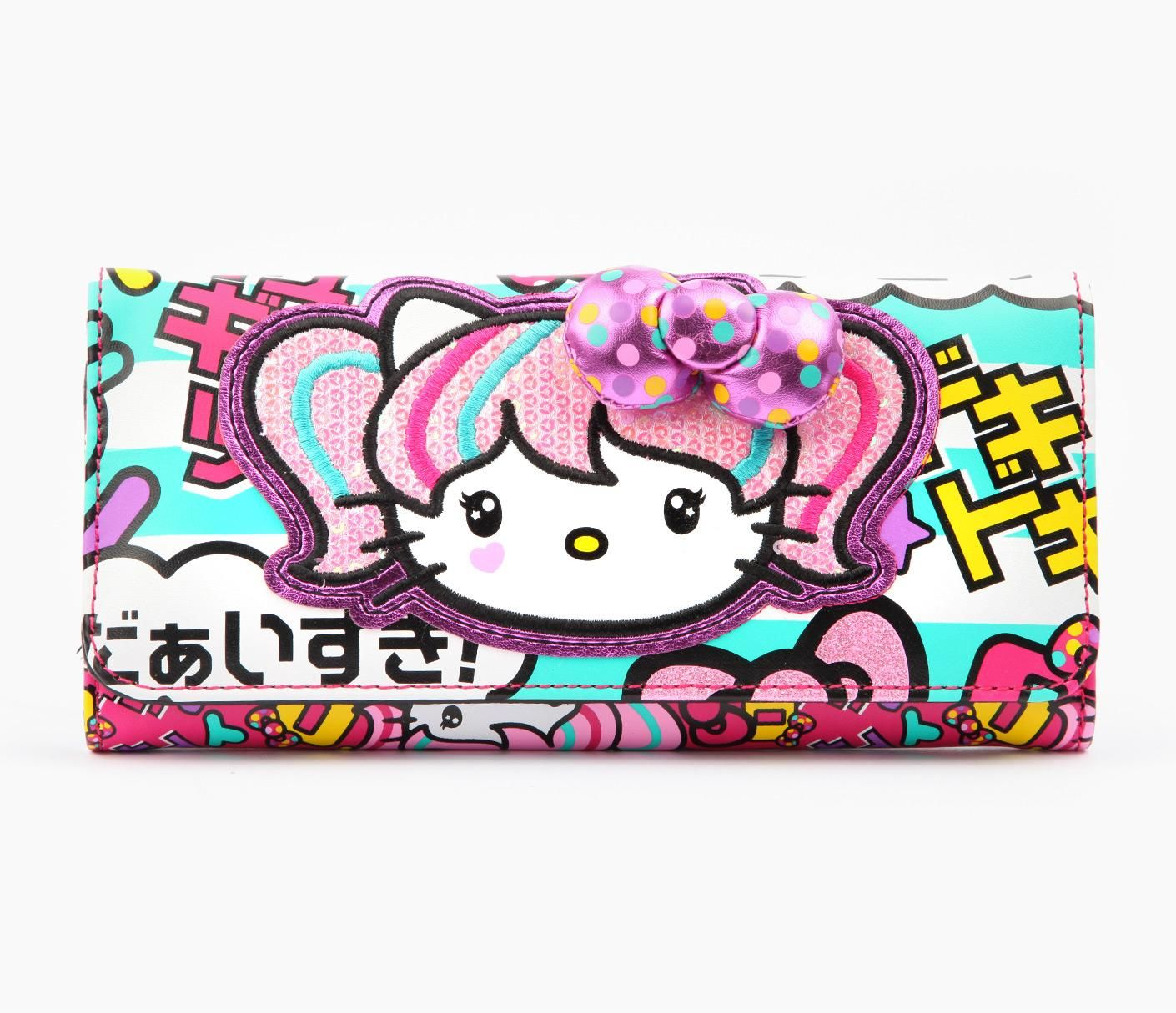 e98e50c490f0 Super kawaii Hello Kitty Japanimation wallet - hoping the sanrio shop in Vegas  has this