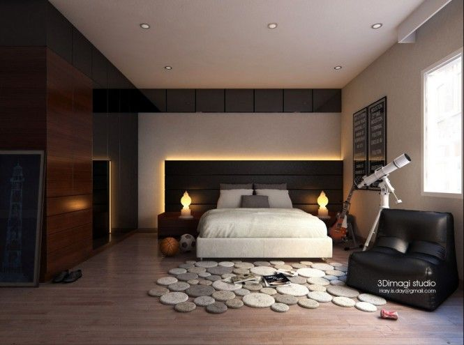 Contemporary Bedroom Design Ideas Mesmerizing Stunning Modern Bedroom Ideas  In Various Color Pebble Rug Design Design