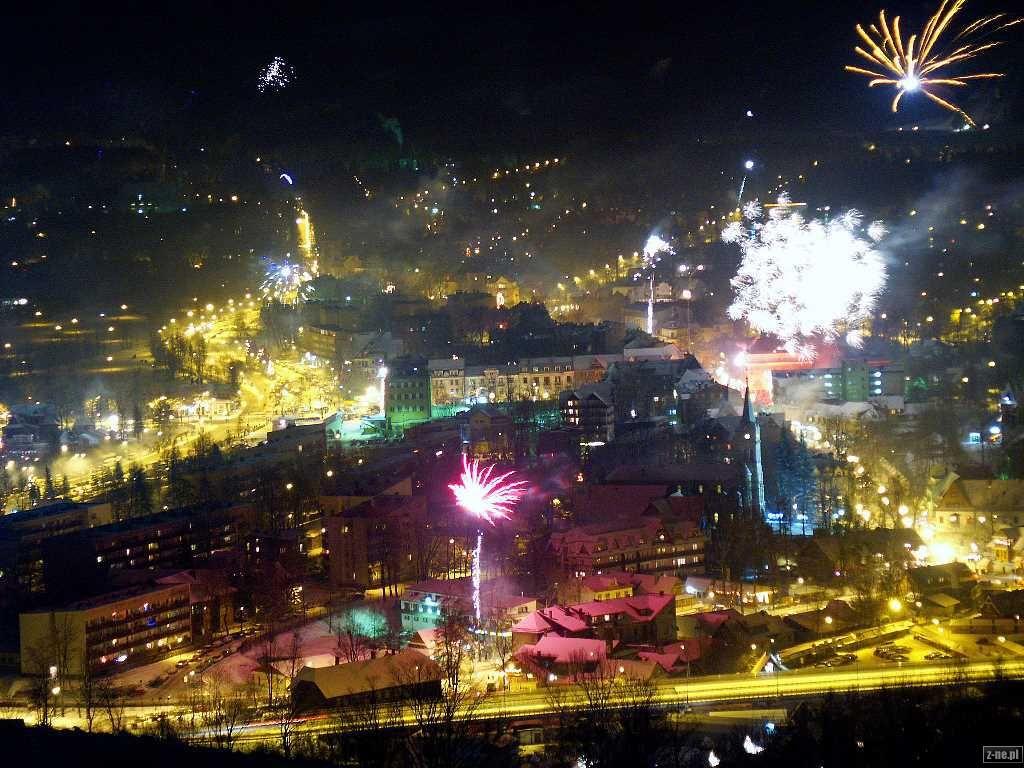 New Year's Eve in Zakopane, Poland