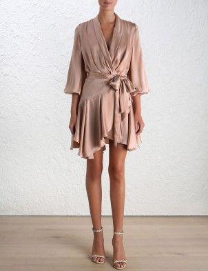 Sueded Robe Dress