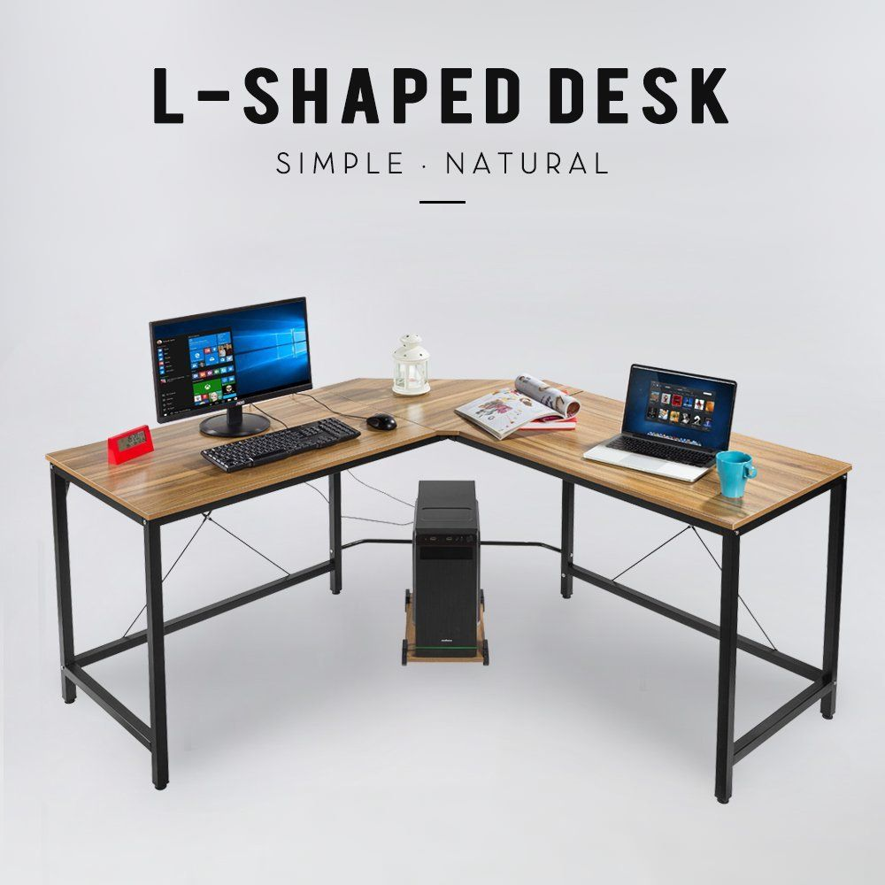 amazon home office furniture. Amazon.com : Elevens L-Shape Corner Computer Desk PC Workstation Home Office Furniture Amazon