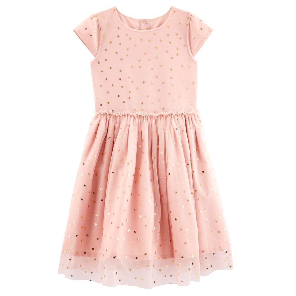 d0279c59b53e Girls 4-8 Carter s Star Tulle Dress