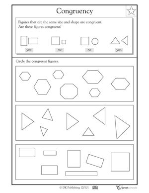 Worksheets Similar Shapes Worksheet Grade 4 1000 images about math geometry on pinterest 3d shapes and shape anchor chart