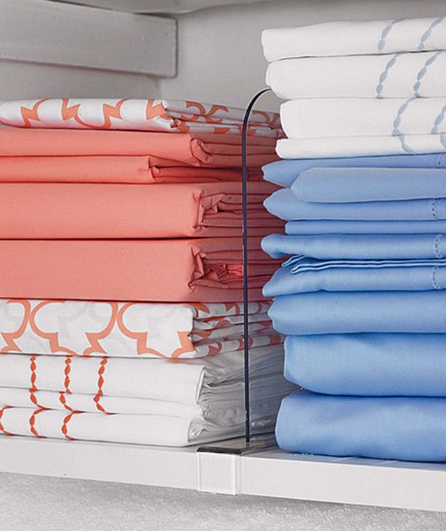 8 Really Smart And Easy Linen Closet Organization Ideas: 8 Smart Small Linen  Closet Organization