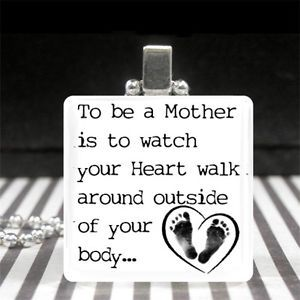 New Mom Quotes Mothers Day Jewelry Motherhood Quote Necklace New Mom Gift Baby