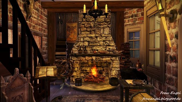 Awesome Frau Engel Ts4 Witch House Sims 4 Witch House Sims 4 Download Free Architecture Designs Rallybritishbridgeorg