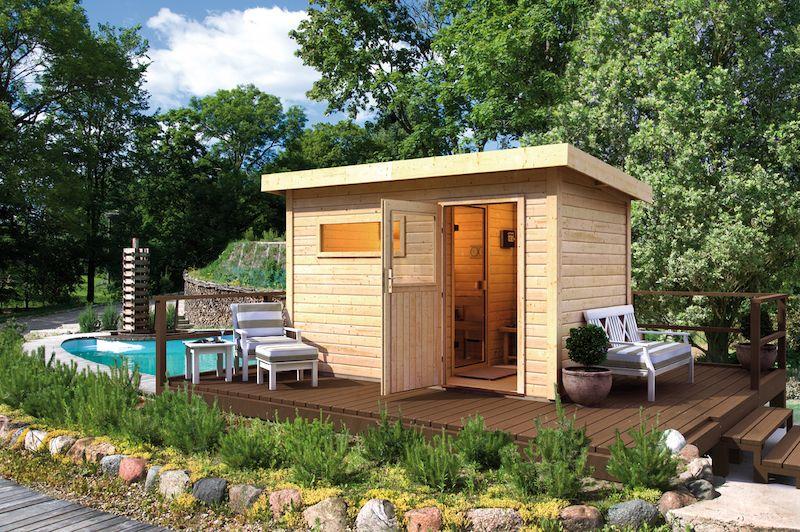 au ensauna f r den garten saunahaus eine sauna in den eigenen vier w nden ist erholung pur die. Black Bedroom Furniture Sets. Home Design Ideas