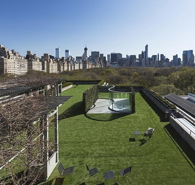 Privately Owned Public Space Graham And Vogt S Pavilion On The Met S Rooftop Reviews Architectural Review Rooftop Garden Nyc Rooftop Best Rooftop Bars
