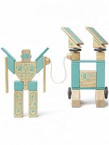 Tegu Magnetron Solar Station Toys Wooden Blocks Building Toys