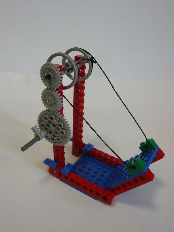 engrenage lego