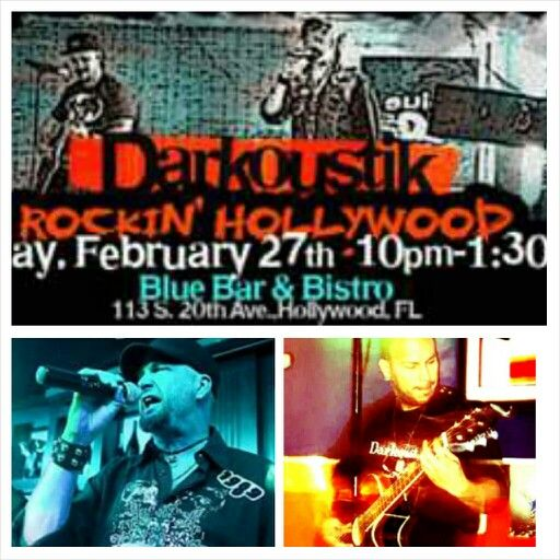 This Friday, Feb 27 we play Blue Bar & Bistro @ 10pm.