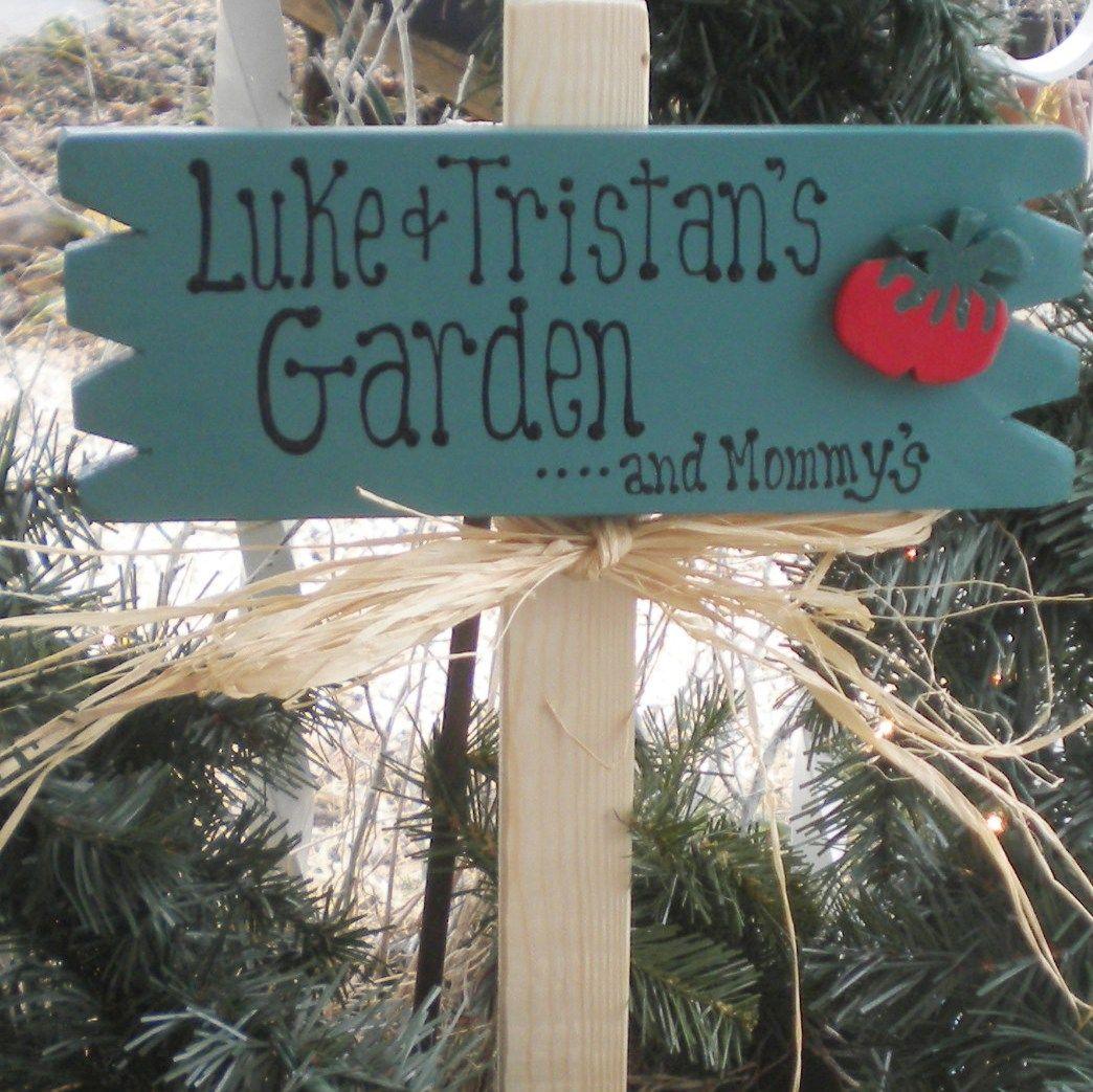 Children S Garden Sign Gardening For Kids Garden Signs Garden