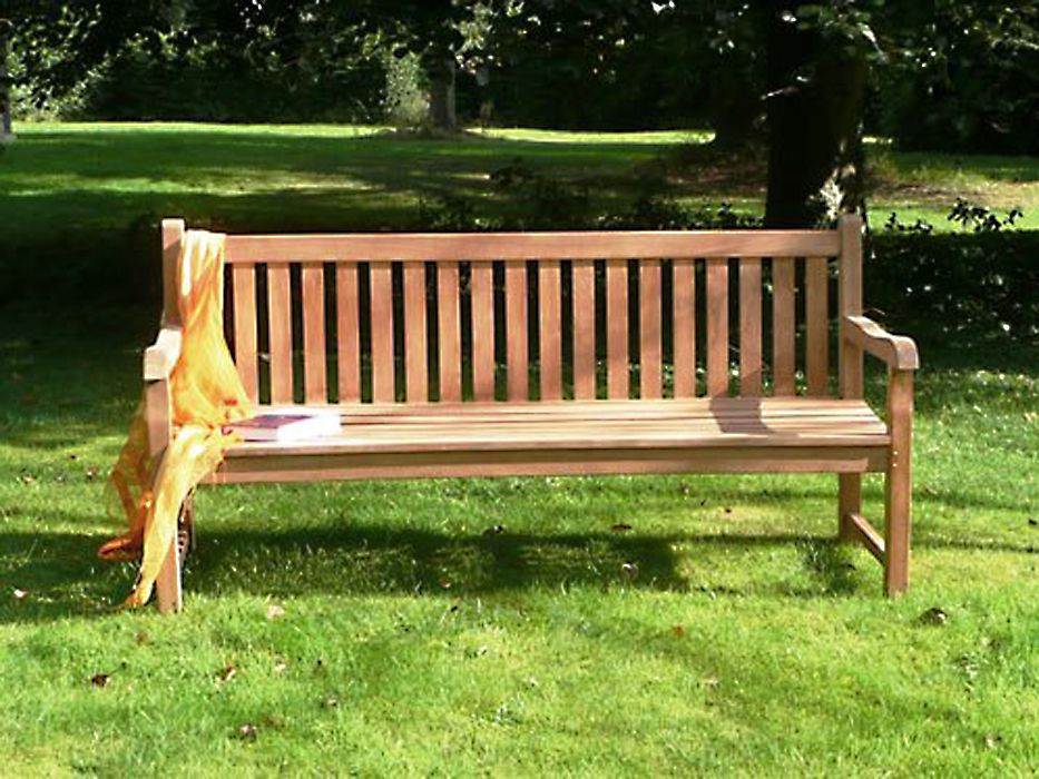 Garden Furniture Teak teak 3 or 4 seater westminster bench #benches #teak