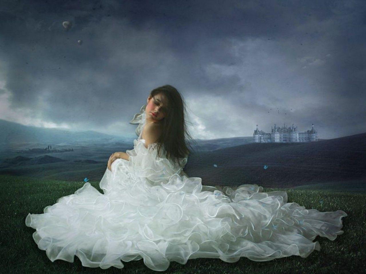 Schöne fantasy frauen bilder