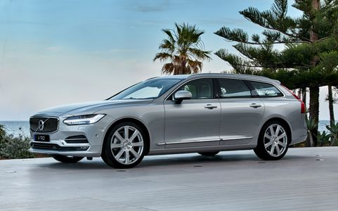 The Volvo V90 Is A Station Wagon But It Diffe Kind Of May Very Well Have Been One Earliest Crossovers