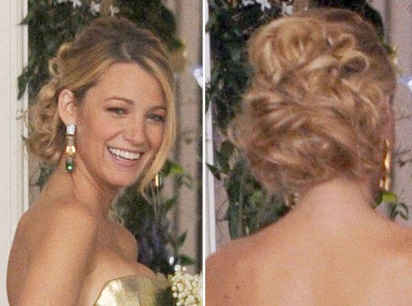 Gossip Girl Serena Van Der Woodsen S Wedding Updo See Pics Nails