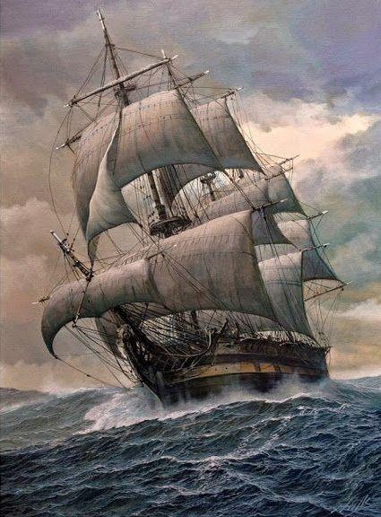 Wieslaw Wilk Old Sailing Ships Sailing Ships Ship Tattoo