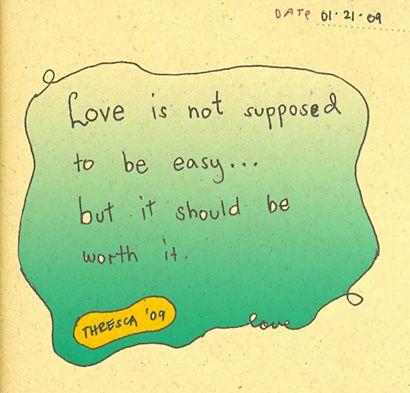 love's not easy
