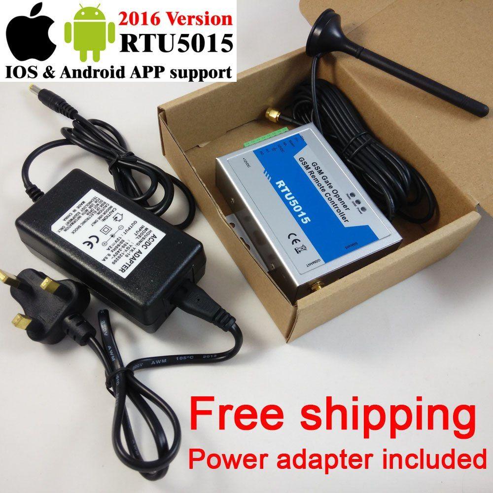Free shipping RTU5015 GSM gate opener Operator Remote