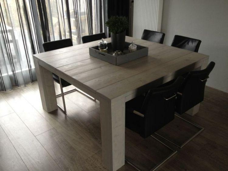 Vierkante Eettafel Uitschuifbaar.Vierkante Eettafel Voor 8 Personen For The Home Vierkante