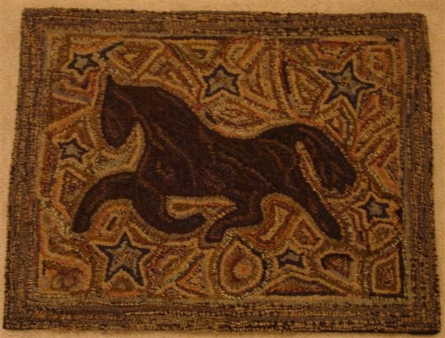 primitive horse was designed by margo white (zionsville, indiana