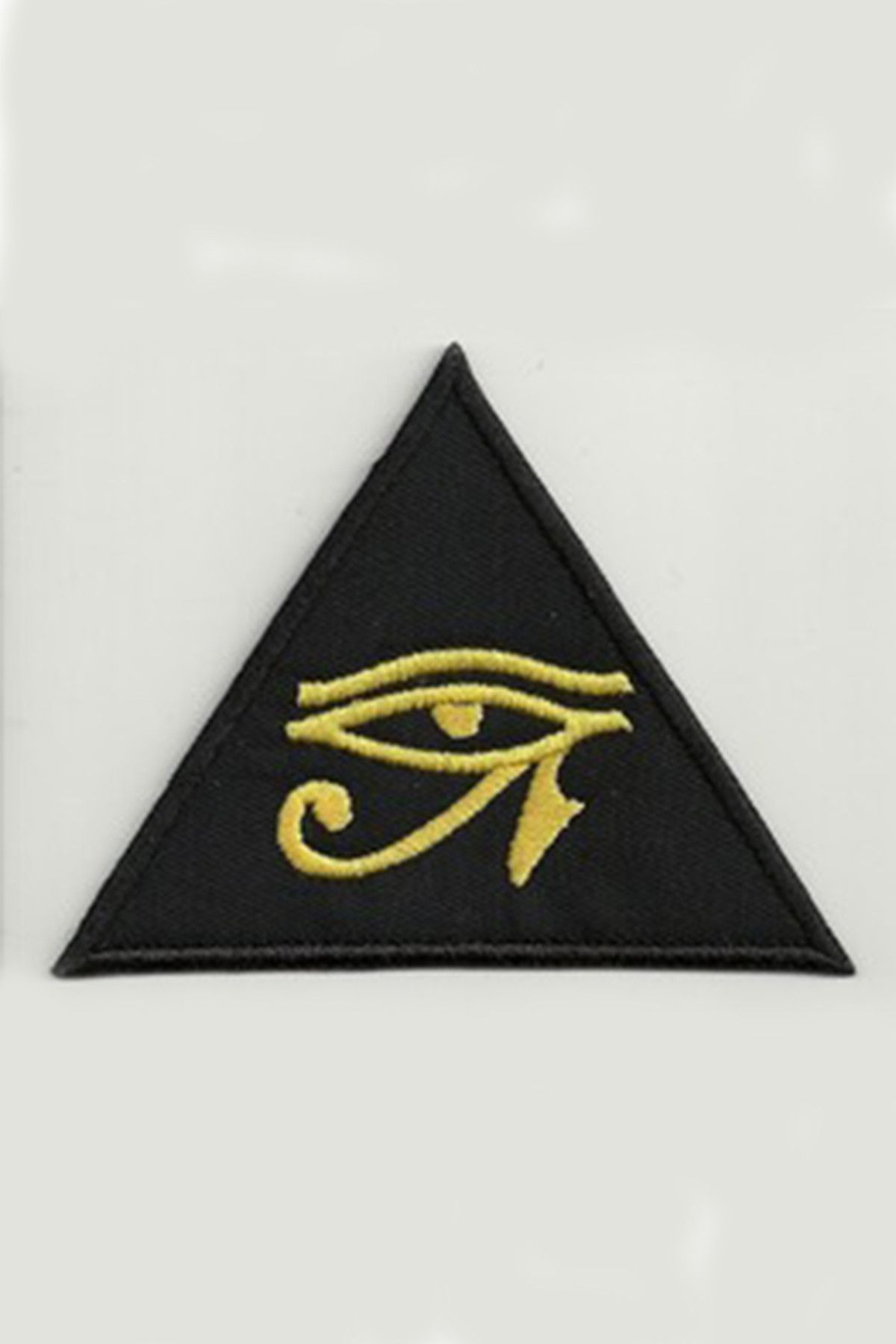 Eye of horus occult iron on patch egyptian symbols gold eyes the eye of horus is an ancient egyptian symbol of protection royal power and good buycottarizona Image collections