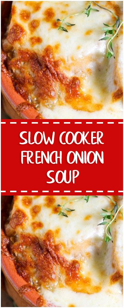 SLOW COOKER FRENCH ONION SOUP #slowcooker #whole30 #foodlover #homecooking #cooking #cookingtips