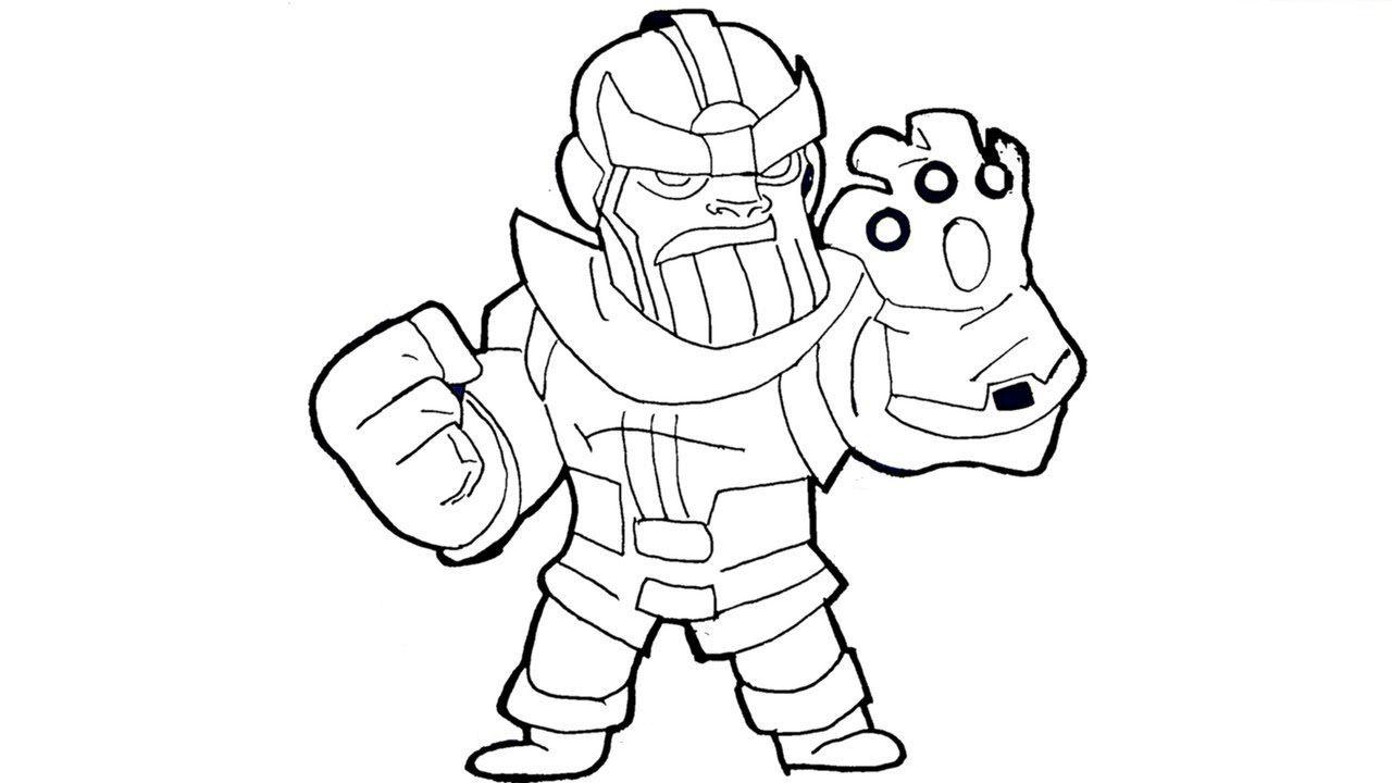 Dibujos de Thanos Pequeño | Dibujos, Dibujos para colorear ...