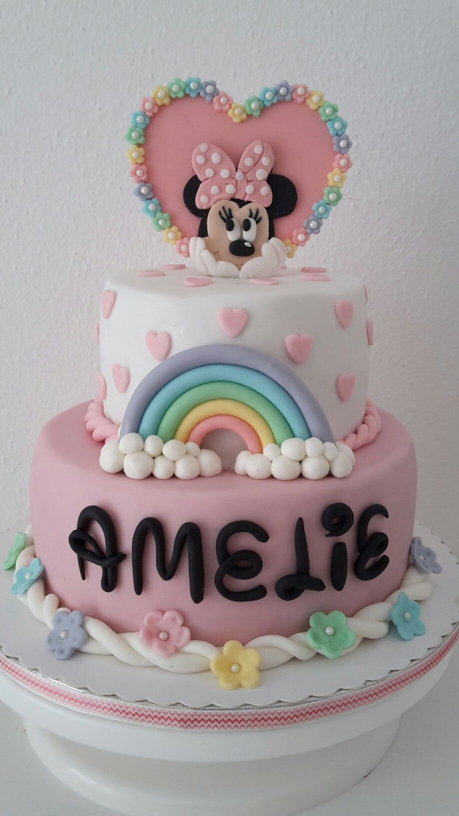 Minnie Maus Torte Kuchen In 2019 Minnie Mouse Cake