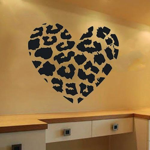 50 Budget Friendly Bedroom Ideas: Leopard Print Decor Decal Sticker
