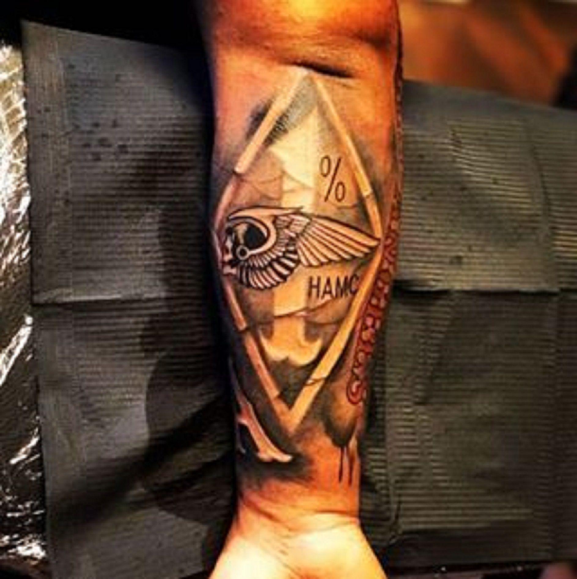 Hamc 1 Tattoo Tatuaże Tatuaże
