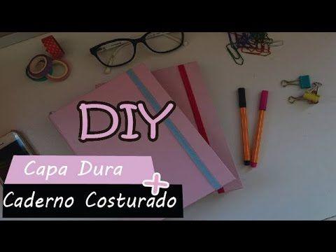 DIY | Caderno costurado + capa dura
