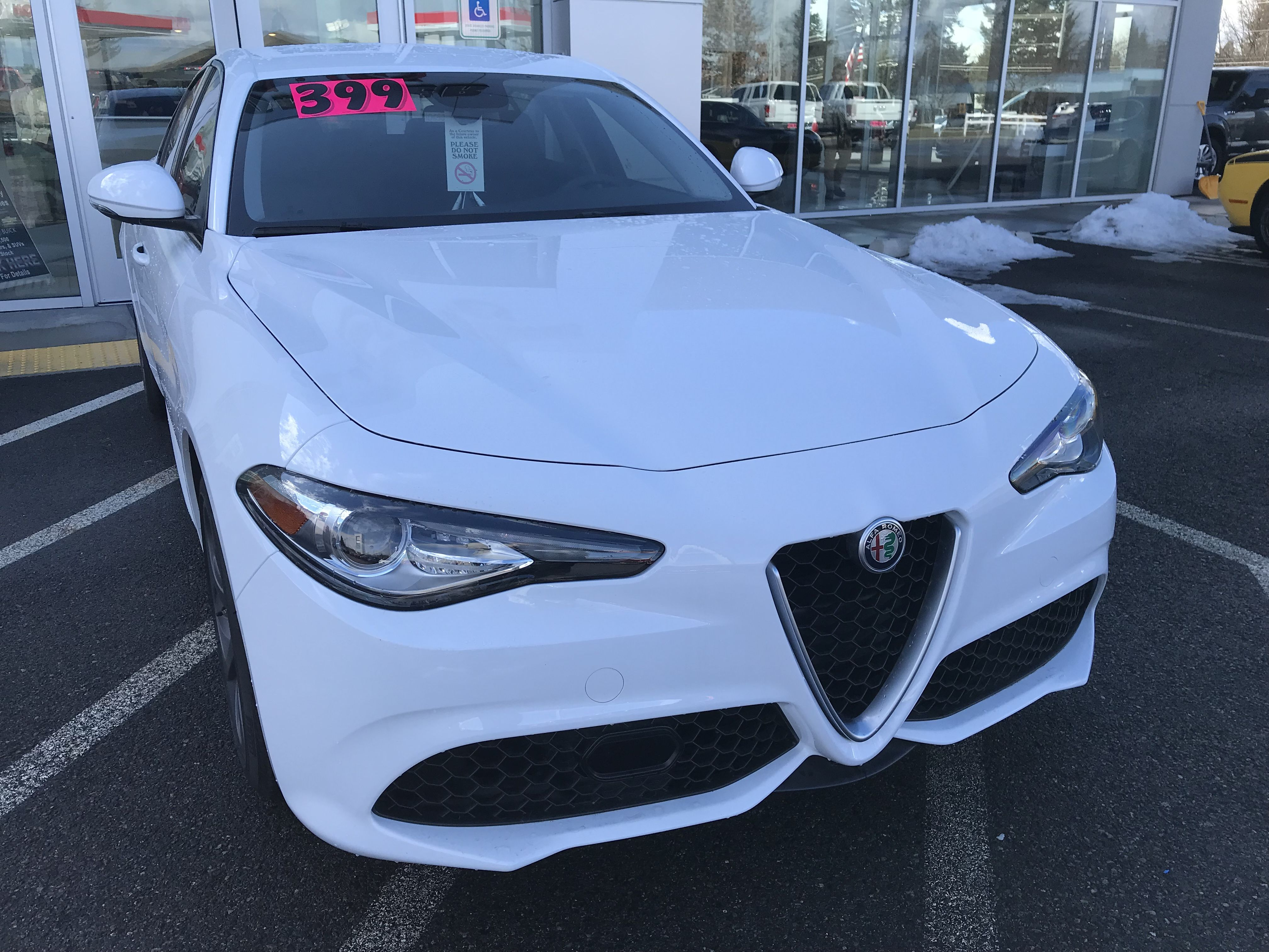 The Real Deal March Madness 1 At This Price This Is A True 0 Down Lease Special 399 Payment Brand New 2017 A Lease Specials Alfa Romeo Giulia Alfa Romeo