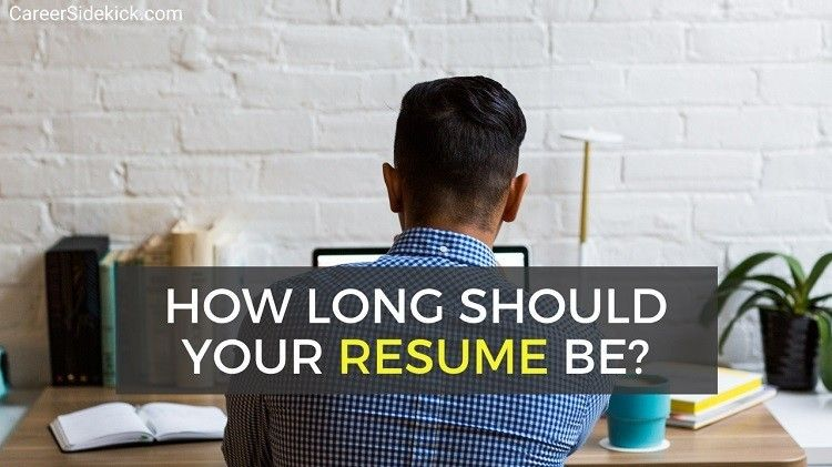 How Many Pages Should Your Resume Be in 2020? Job