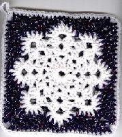 Free Crochet Pattern: Snowflake Potholder | Crochet Direct