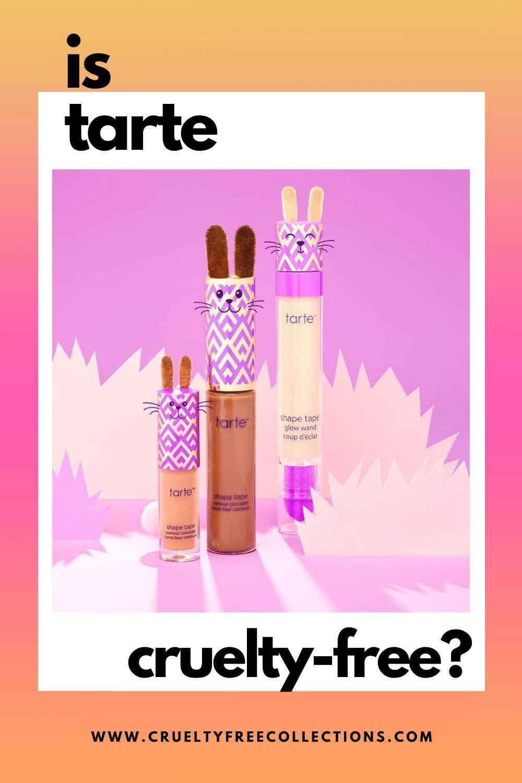 Is Tarte CrueltyFree? CrueltyFree Makeup in 2020