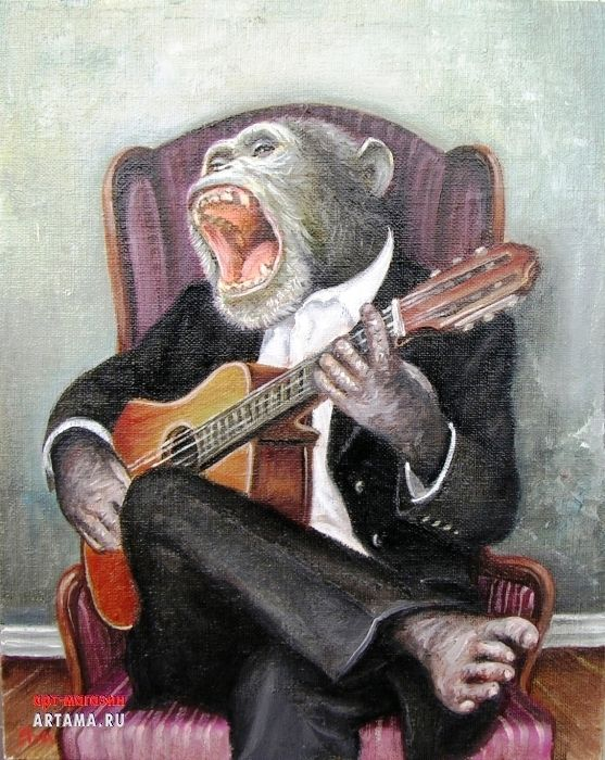 Маугли, веселый гитарист картинки