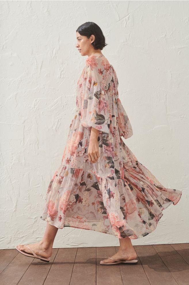 (enthält Werbung) Langes, weites Kleid aus feinem ...