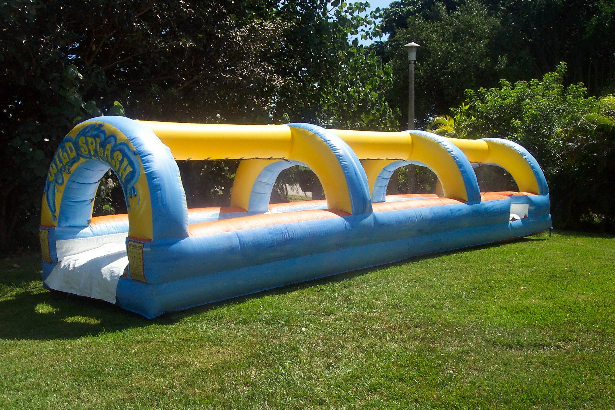 Turning up the notch on the classic slip and slide! Great ...