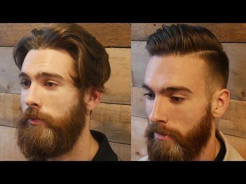 Extreme Modern Hair Beard Makeover Transformation Men S Haircut Beard Tutorial 2017 Haircuts For Men Beard Haircut Mens Hairstyles