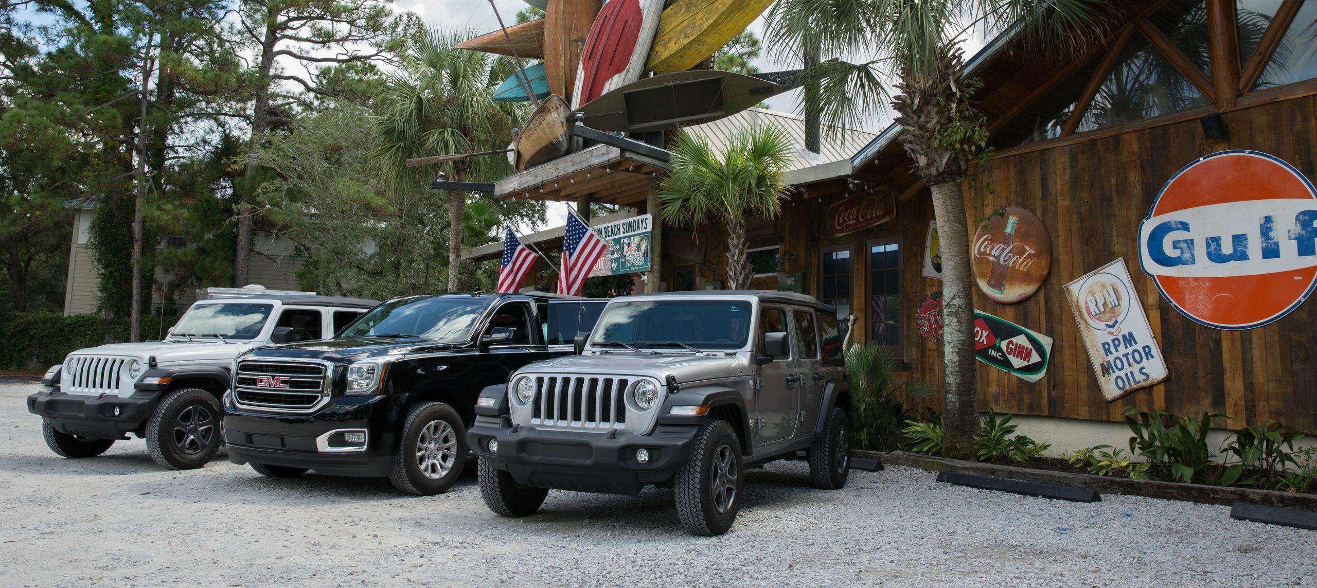 Find The Rental You Want Destin Jeep Rentals Car Rentals Destin