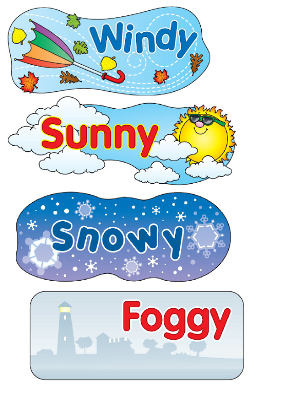 Weather Bear Printables.pdf (With images) Learning