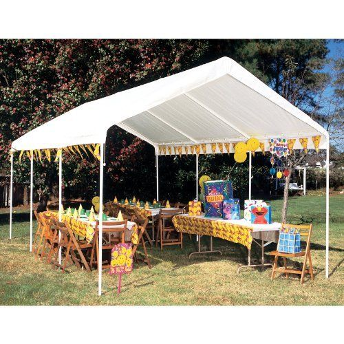 Details About 10 X 20 Portable Heavy Duty Canopy Garage Tent Carport Car Shelter Steel Frame In 2020 Carport Canopy Garage Canopies Carport