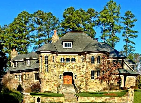 It S Ok To Dream Million Dollar Homes In Raleigh Cary Apex North Carolina Million Dollar Homes Gorgeous Houses Stone Front House